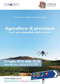 Locandina agricoltura di precisione