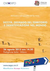 Locandina desertificazione
